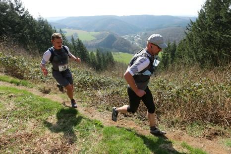 Team Trail 2.0 in Nisramont