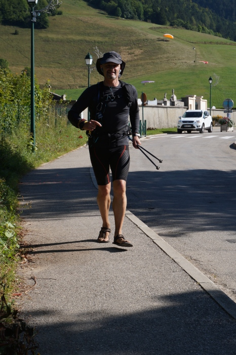 Entering St Nizier after 68 km and 15h on my way.