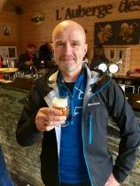 Pre-race beer