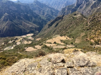 Villages below