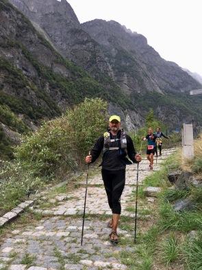 Long descent to Rioupéroux