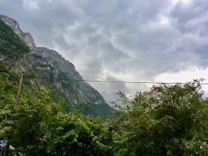 Storm in Belledonne