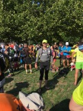 At the start in Grenoble